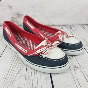 Sperry Topsider 4th of July Boat Shoes